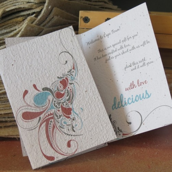 Growing Paper Greeting Cards