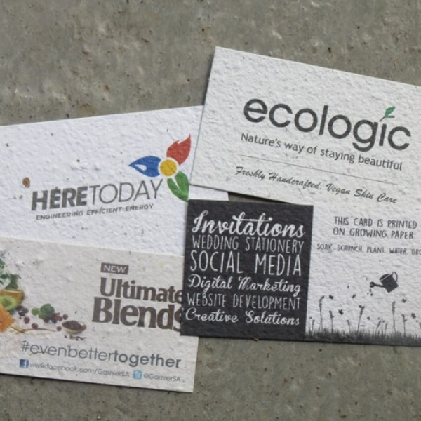 Growing Paper Business Cards